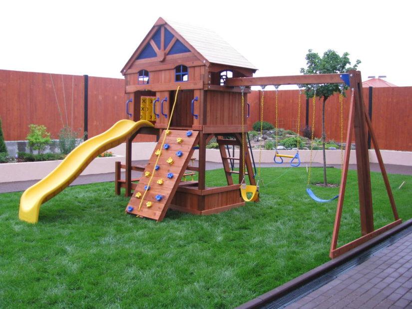 Детские комплексы для квартиры своими руками 187