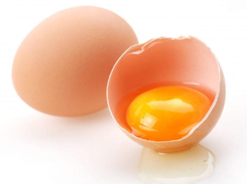 окраска желтков яйца