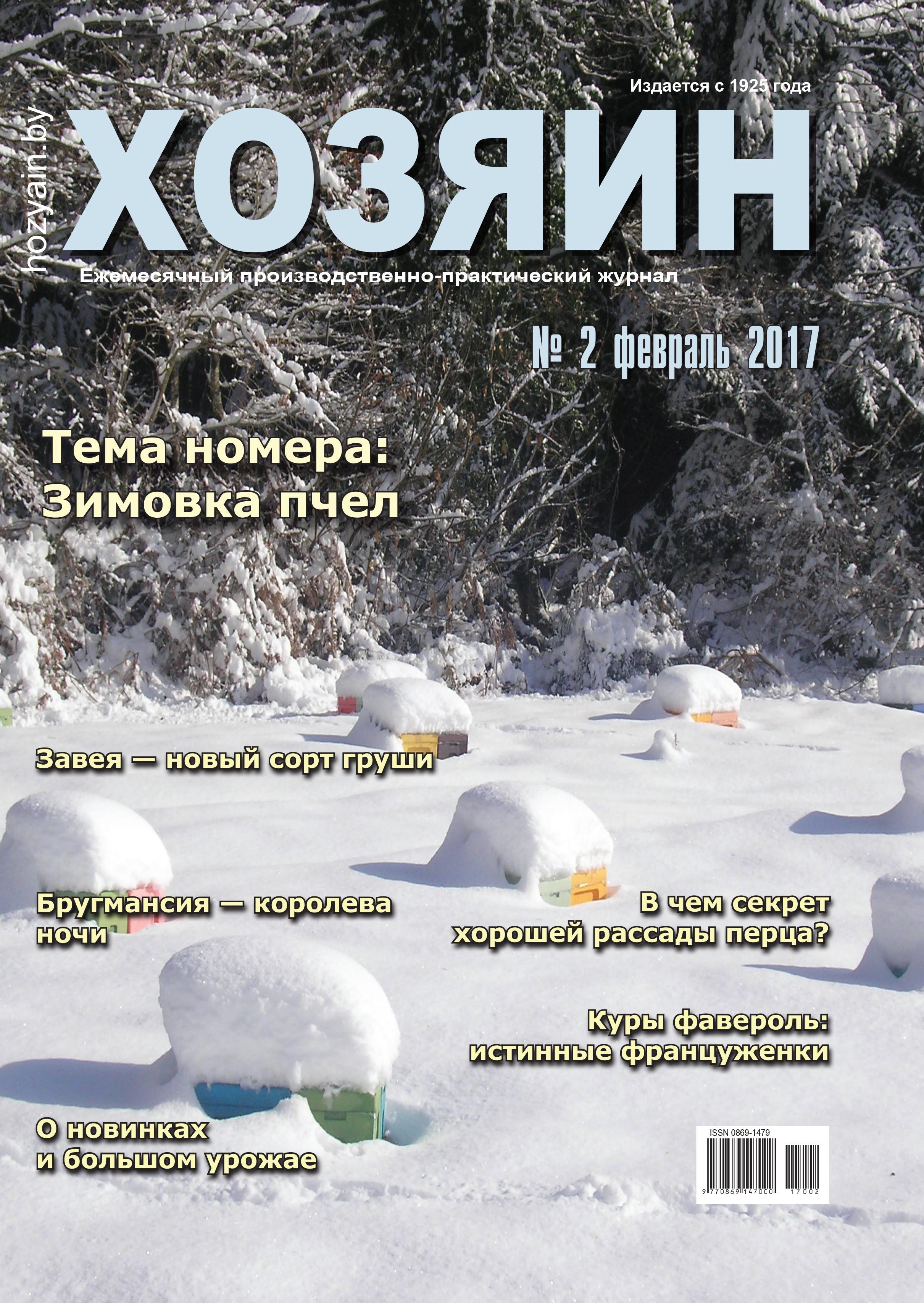 обложка за февраль