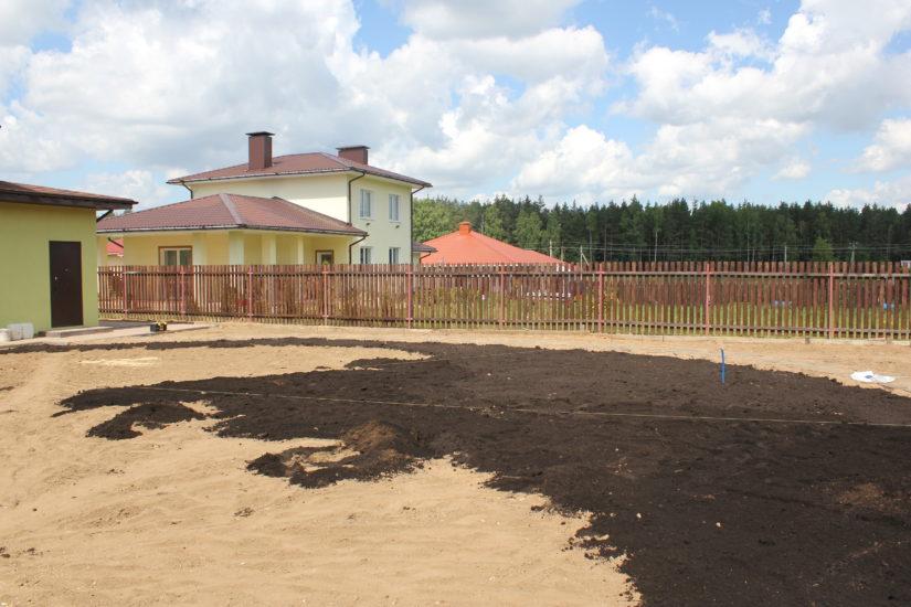 почва для газона