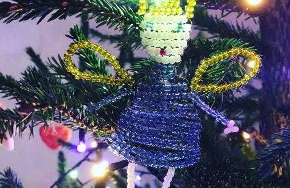 Поделка на елку Екатерины Пырко