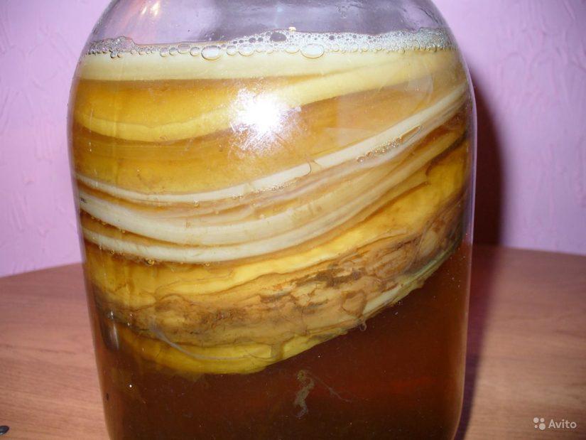 компрессы из чайного гриба
